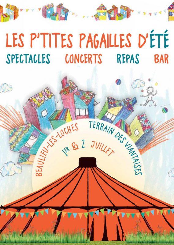Les P'tites Pagailles d'Été – Inauguration du Chapiteau – 1er & 2 Juillet 2017