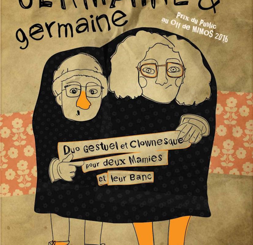Les P'tites Pagailles d'Automne – Germaine et Germaine – Cie Quand les moules auront des dents – 13 Octobre 2018